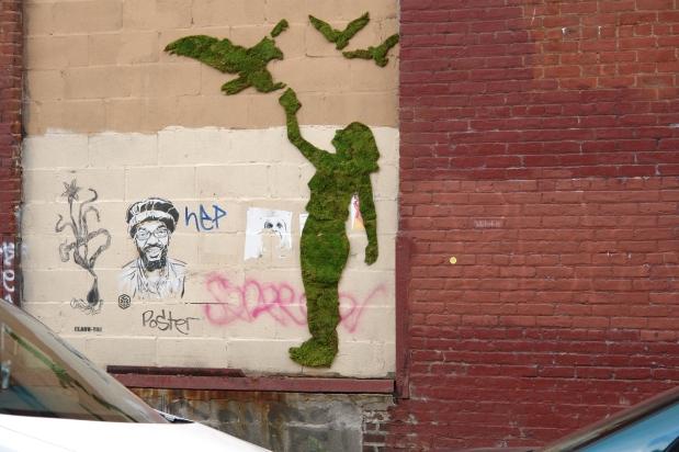 Artistas urbanos llevan la naturaleza a lascalles